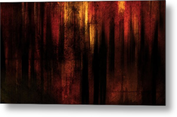 In Between Metal Print by Terrie Taylor