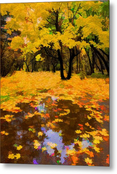 In The Autumn Mood Metal Print