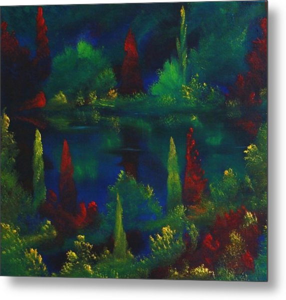 In The Garden Of Kubla Khan Metal Print by David Snider