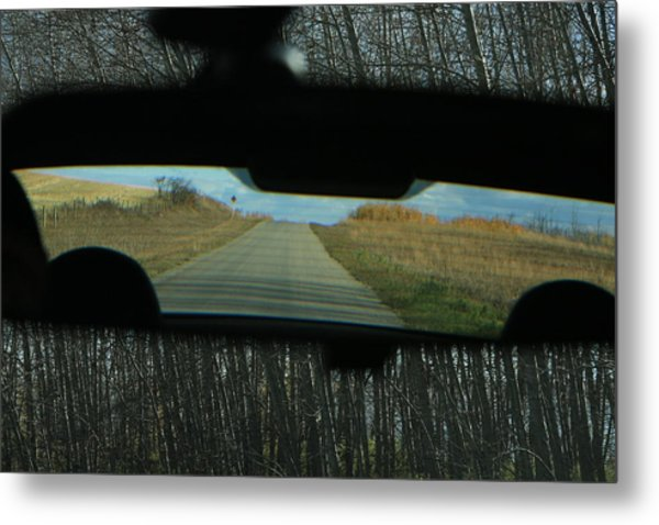 In The Rear View Metal Print