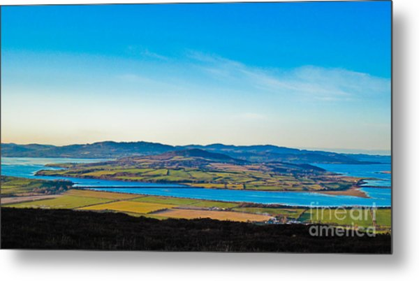 Inch Island County Donegal Ireland Metal Print by Black Sun Forge