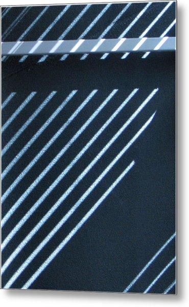 Incomplete Lines Metal Print