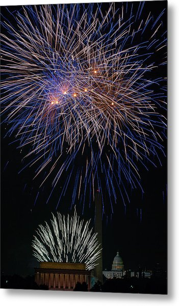 Independence Day In Dc 5 Metal Print by David Hahn