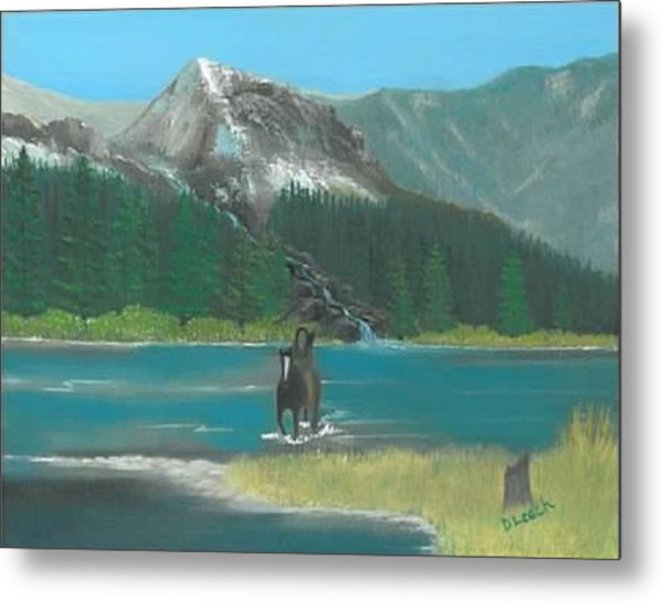 Indian River Metal Print by Donna Leach
