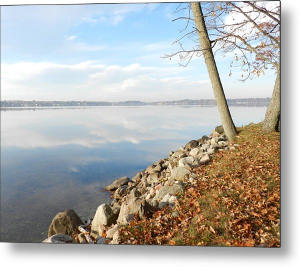 Indian Summer Day Metal Print by Dennis Leatherman