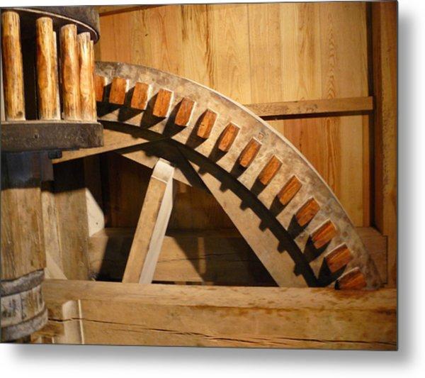 Industrial Work Metal Print by