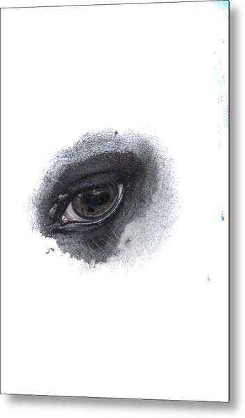 Indys Eye Metal Print