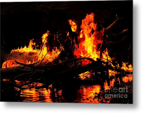 Infernal Lair Metal Print