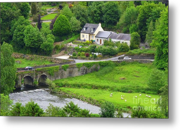 Inistioge In Ireland Metal Print