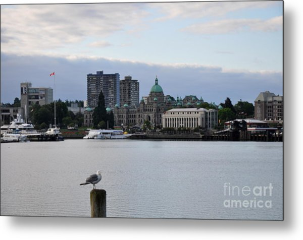 Inner Harbor Victoria Canada  2 Metal Print by Tanya  Searcy
