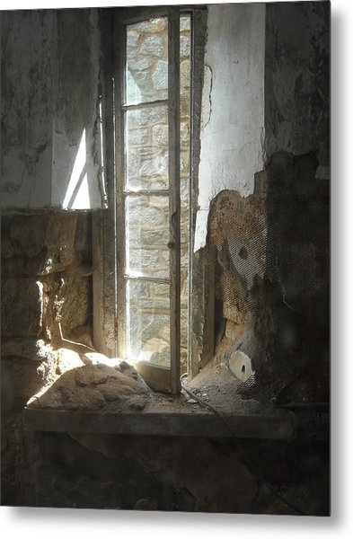 Interior Window Metal Print