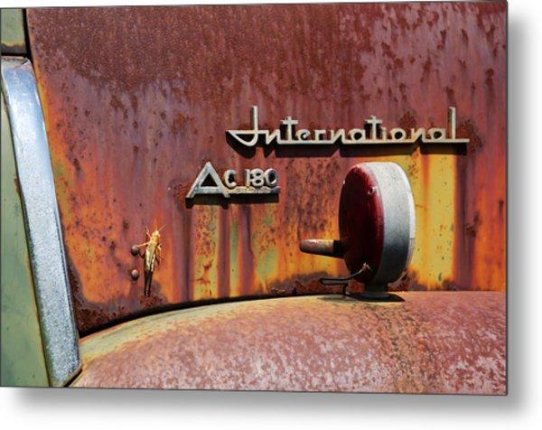 International Ac 180 Metal Print by Lisa Moore