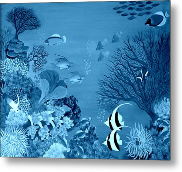 Into The Blue Yonder Metal Print