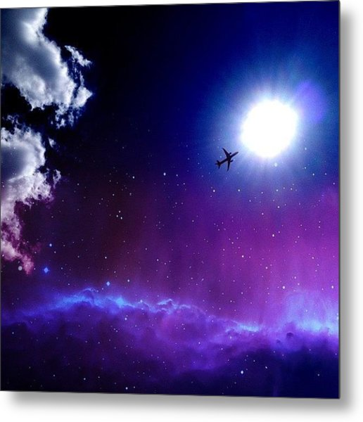 Into The Nebula Metal Print