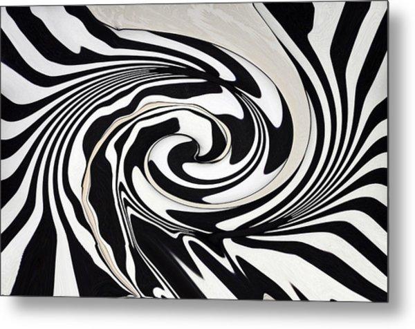 Intoxicated Zebra..... Metal Print by Tanya Tanski
