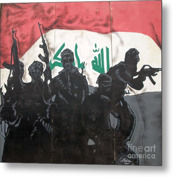 Iraqi Special Forces Metal Print by Unknown