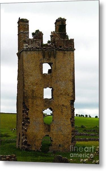 Ireland- Castle Ruins II Metal Print