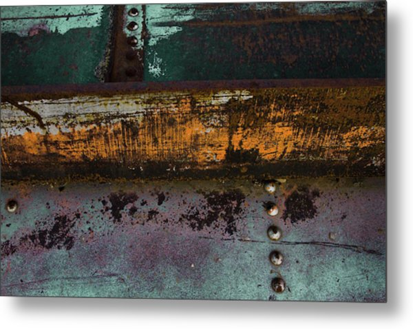 Iron And Rust Metal Print