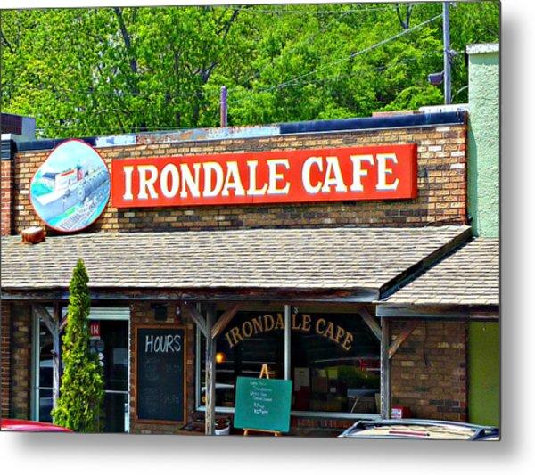 Irondale Cafe  Metal Print