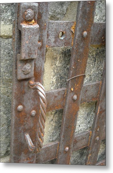Ironworks Metal Print