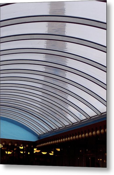 Is There Life On Mars Metal Print