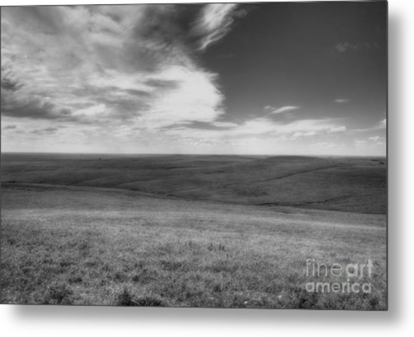 Isaac Over The Preserve Metal Print by Fred Lassmann