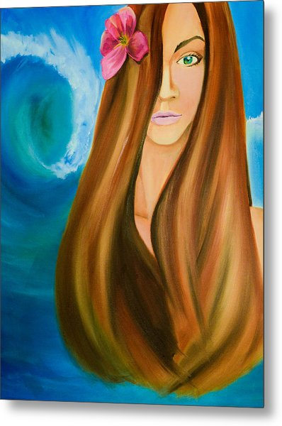 Island Beauty Metal Print by Chris  Leon