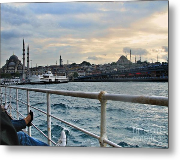 Istanbul  Metal Print by Bener Kavukcuoglu