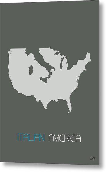 Italian America Poster Metal Print