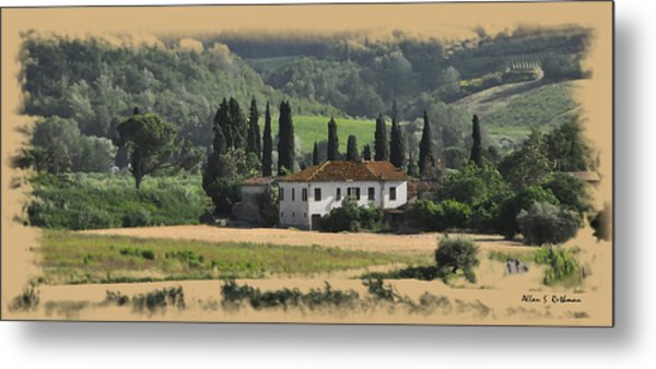 Italian Countryside Metal Print