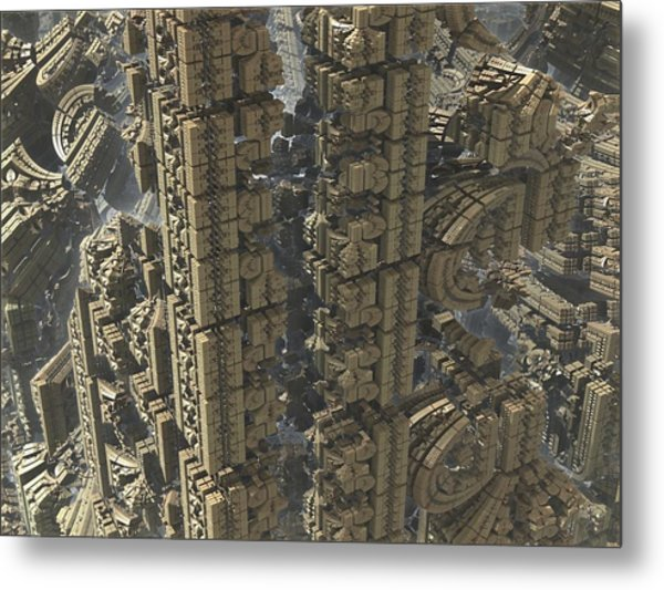 It's A Long Way Down Metal Print