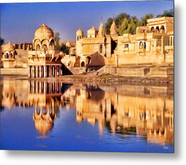 Jaisalmer Rajasthan Metal Print