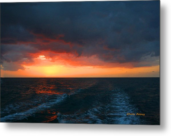 Jamaica Sunset Metal Print