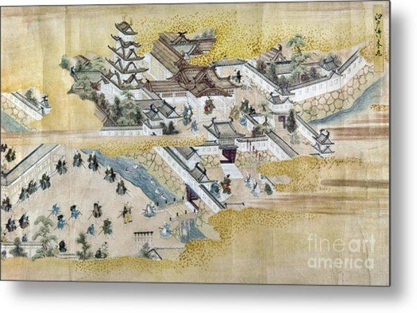 Japan: Castle, C1600 Metal Print