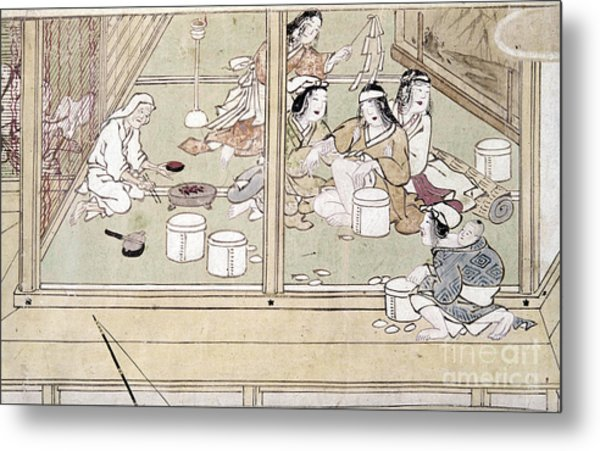 Japan: Childbirth, 1329 Metal Print