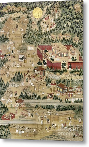 Japan: Shinto Shrine Metal Print