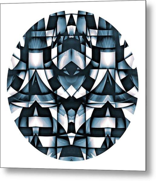 Metal Print featuring the digital art Japan by Visual Artist Frank Bonilla