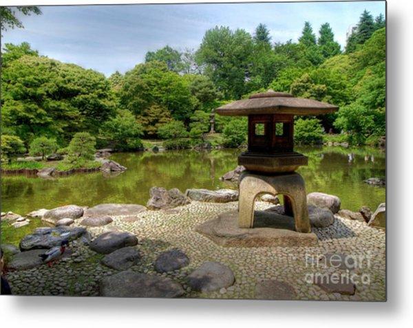 Japanese Garden -2 Metal Print