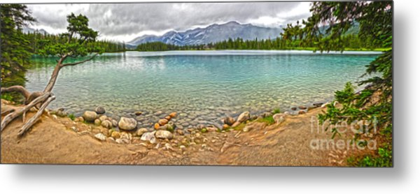 Jasper National Park - Maligne Lake Metal Print