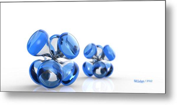 Jax Blue Dof Metal Print