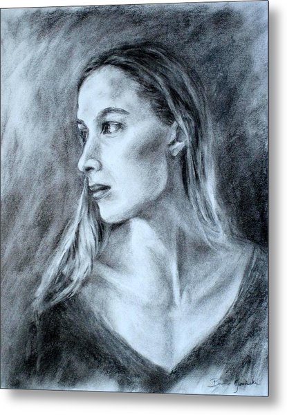 Jennifer Metal Print