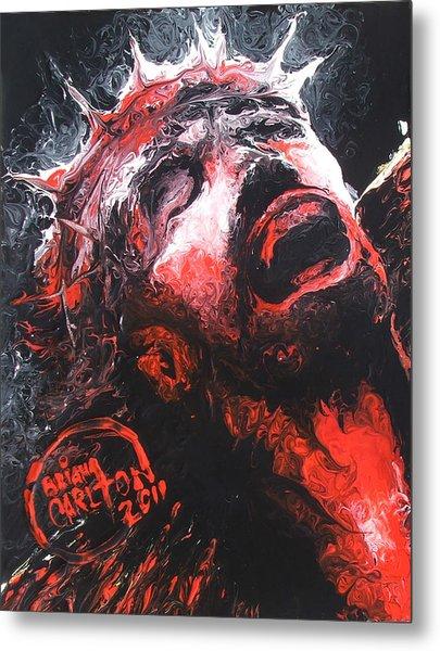 Jesus Metal Print by Brian Carlton