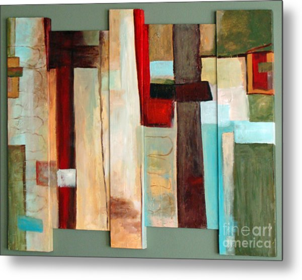 Jewel Five Metal Print