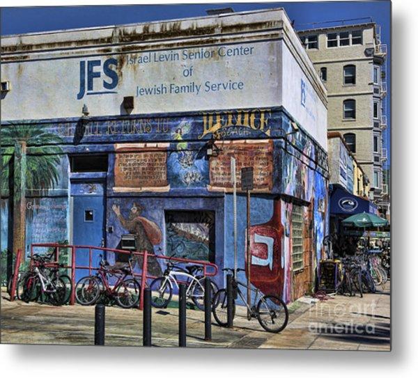 Jewish Family Center Venice Beach California  Metal Print