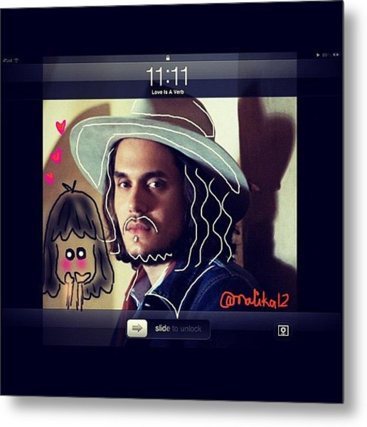 #jm #johnmayer #johnmayerfans Metal Print