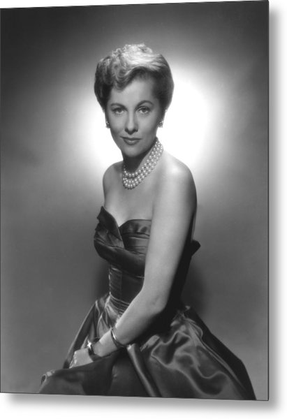 Joan Fontaine, Ca. 1950s Metal Print by Everett