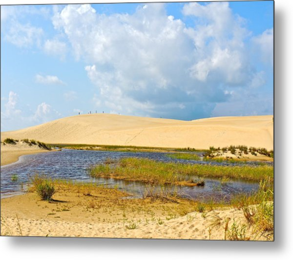 Jockey's Ridge Metal Print