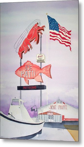 Joe Patti's Metal Print