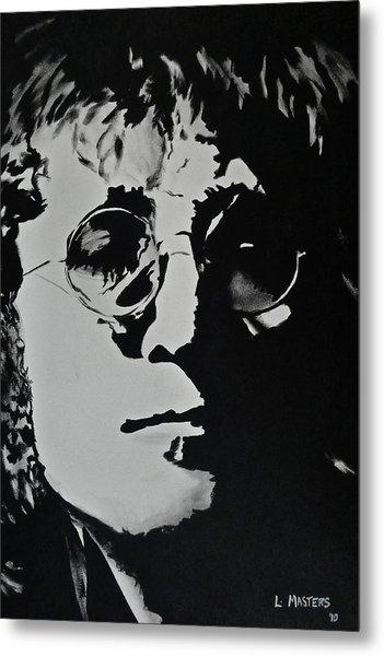 John Lennon Metal Print by Lisa Masters