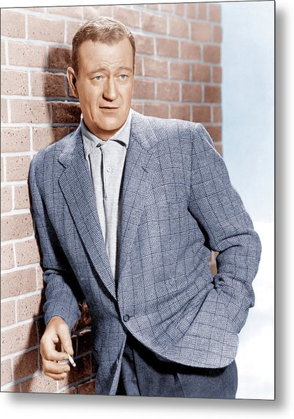 John Wayne, Ca. 1955 Metal Print by Everett